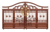 Cancelli decorativi dell'entrata di obbligazione del ferro saldato di qualità superiore, portello