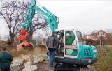 Excavador de los nuevos mini cavadores 3.46t/3.55t de la buena calidad pequeño para la venta