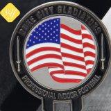 Commerce de gros prix d'usine drapeau personnalisé de l'armée britannique militaire Coin