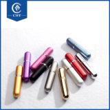 15ml 8 ml em alumínio cor trançado reabastecer o perfume atomizador garrafa spray