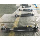 Petit vérin d'orientation de train avant de cylindre hydraulique pour Excator