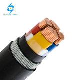 Cable de transmisión aislado XLPE/PVC de la envoltura de la SWA PVC/PE del conductor del Cu del IEC 60502