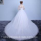 Мантии венчания шеи ветроуловителя платье венчания Mermaid шнурка шикарной новое
