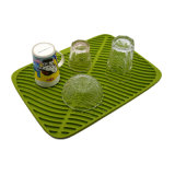 Оптовая тарелка качества Амазонкы горячая продавая многофункциональная большая придает форму чашки циновка силикона Drying