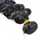 Выдвижение волос Non-Remy волны воды человеческих волос бразильское