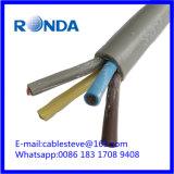 4 cable eléctrico flexible del sqmm de la base 6