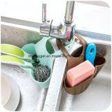 Suporte Esg10227 do dissipador da esponja dos organizadores do utensílio do organizador do armazenamento da cozinha do silicone