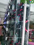 Прямой/подписи по кривой для использования внутри помещений Полноцветный P 3,91 светодиодной панели дисплея 500 x 500 мм или 500 x 1000 мм