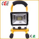 2017 luz de inundación Emergency recargable de 10W 20W 30W 50W LED