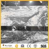 磨かれる中国の安く贅沢な黒炎にあてられたNeroの想像の花こう岩のタイル