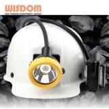 Tampa do mineiro LED 8.8AH, Lâmpada de Luz com tampão de mineração com certificação ATEX
