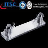 Plaque de base en aluminium linéaire pour l'armature de faisceau