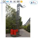 좁은 통로 포크리프트 1000kg 1500kg 1t 3-7.5m 최빈값: Tc Ce/ISO 증명서를 가진 3방향 전기 깔판 쌓아올리는 기계