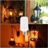 E27 Hotel Home jardim chama as lâmpadas de LED decorativas com oscilações de chamas