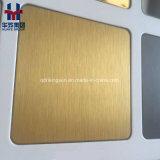 マットの内部の装飾のための反指紋のステンレス鋼カラーシート