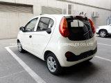 Automobile elettrica bianca di buona condizione piccola