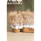 O inverno da pele de carneiro de Austrália da forma calç carregadores da forma com guarnição da pele do coelho