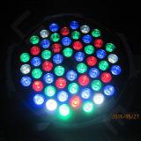 Stade DJ Mini RGBW DMX 512 Fer blanc chaud peut