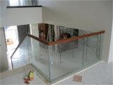 Самомоднейшие лестницы конструкции 12mm закаленные Laminate стеклянные