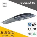 IP65 Ik08 100W Solar-LED Straßenlaterne-100lm/W im Freienbeleuchtung