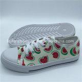 卸売の最新の女性のズック靴の余暇の履物の靴(ZL1017-23)