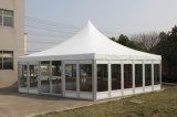 Im Freien Hochzeits-Glaswand-Zelt, transparentes freies Dach-Zelt