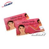Imprimé en couleur de haute qualité des cartes d'affaires avec le libre-carte échantillon