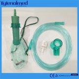 Masque vert de Multi-Évent de PVC pour l'usage médical
