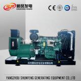 250kw principali aprono il tipo generatore diesel di potere di Volvo in azione