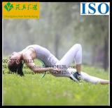 Esteira Eco-Friendly impermeável da ioga de EVA da borracha natural de camada dobro