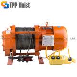 300kg к электрической лебедке 2000kg многофункциональной 220V/380V Kcd с беспроволочным дистанционным управлением