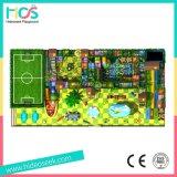 Большие дети коммерческого применения внутри помещений детская площадка с футбола области