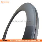 7-Tiger Clincher 88 мм выбросов углерода Rim ЗАДНИХ ДИСКОВ велосипеда дорожного движения для продажи