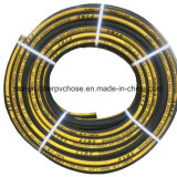 Elevado Limite Elástico de borracha industrial têxtil sintética da mangueira de gás