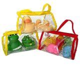 Verschiedene fördernde Plastikspielwaren anpassen