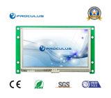 Module de TFT LCD de 4.3 pouces avec l'éclat du contact Screen+High de Rtp/P-Cap