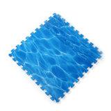 Couvre-tapis de mousse d'EVA avec l'océan pour le jeu de bébé