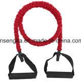 Resistencia a la fuerza de alta calidad de la cuerda de la banda de la forma del cuerpo de entrenamiento de gimnasia