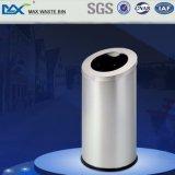 Cubo de basura decorativo de la basura del bote de basura del acero inoxidable de la alameda de compras Max-Sn134