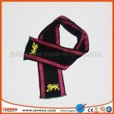 Écharpe de tricotage bilatérale colorée du football de l'hiver en gros