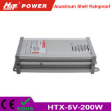 5V 40A 세륨 RoHS Htx 시리즈를 가진 방수 LED 전력 공급