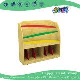 Armoire en bois de la maternelle ont organisé des livres sur la promotion (HG-4706)