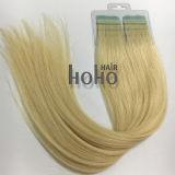 Brazilian Remy Hair Pro 18 pouces blonde droites du ruban adhésif sur l'extension de cheveux humains
