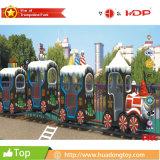 Поезд рождества всадника электрического поезда оборудования парка атракционов детей электрический