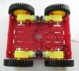 wiel van de Vlam van de Motor van de Auto van 80mm het Slimme voor Tt Motor en ServoInstallatie met Uitrustingen Arduino