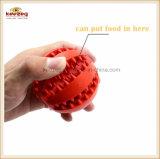 Wassermelone-Leckage-Nahrungsmittelkugel-Haustier-Spielzeug, sauberes Zahn-Kugel-/Dog-Spielzeug (KB1050)