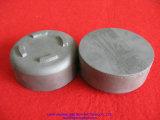 Potenciômetro cerâmico preto do carboneto de silicone com tampa para a mobília da estufa