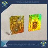 As etiquetas autocolantes com holograma para usos comerciais imprimindo