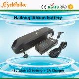 Batteria di ione di litio di stile 48V 13ah di Hailong con la porta dei USD per il telefono