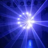 Luce laser calda della fase del fascio di animazione di 5W RGB